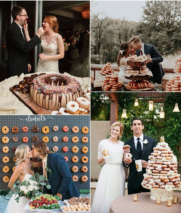 Wedding shots couples Donuts wall Wedding shots ideas