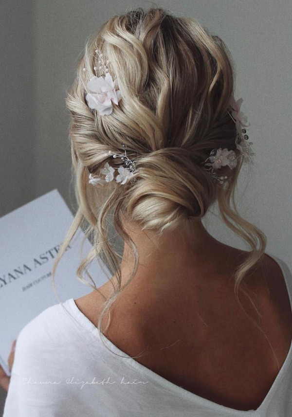 Messy updo wedding hairstyles for long hairulyana.aster 2