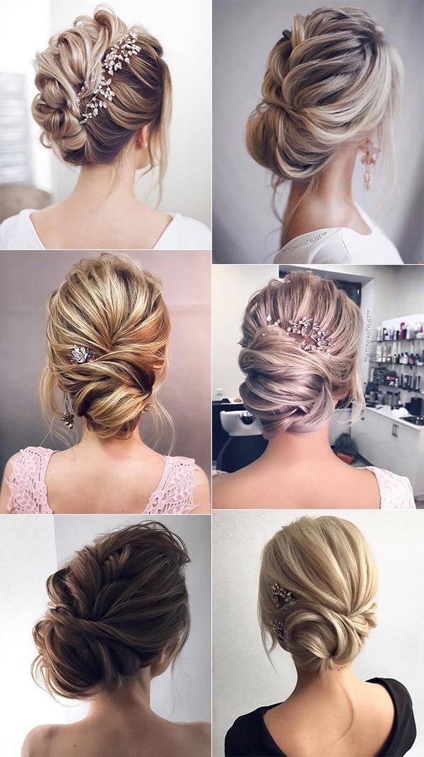 updo wedding hairstyles for elegant brides