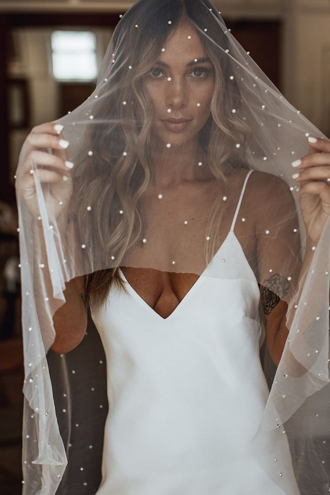 Grace Loves Lace Wedding Veils #wedding #weddingideas #weddingveils #veils
