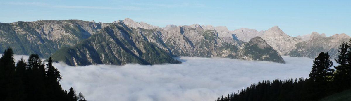 Blick auf Karwendel