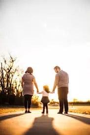 En familie der viser hvad samtaleterapi gjorde for Jette.