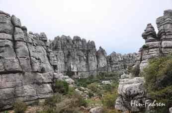 Berge im Naturpark in Spanien #El Torcal #Andalusien