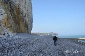 Zwischen Klippen und Meer an der Alabasterküste #Normandiereise #Küste
