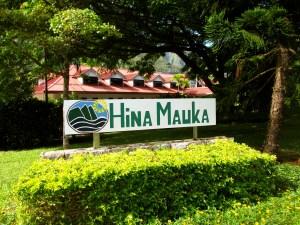 Hina Mauka sign