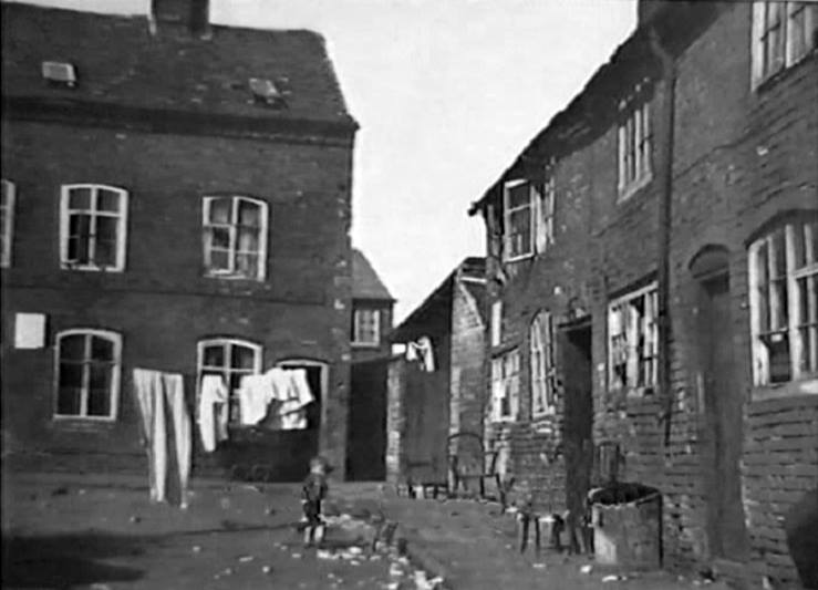 The Slums Of Victorian Hinckley In Leicestershire