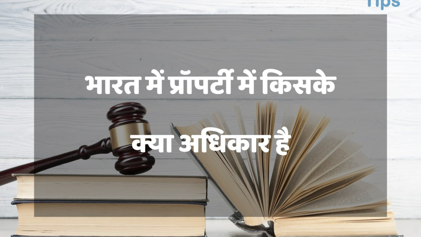 What Is Right To Property In India