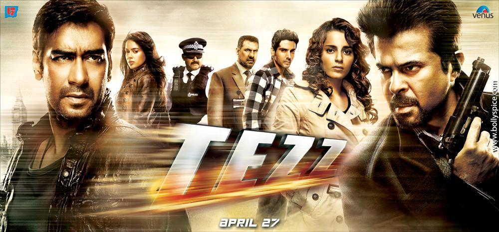 Tezz (Title Song) Lyrics | Tezz | Sunidhi Chauhan, Shaan