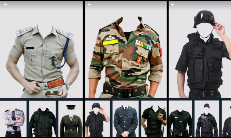 Police Photos Suit, Foji Photo Suit,Army Photo Suit , Photo Suit Editor Apps , Photo Sajane Ka Apps , Photo Sajane Wala Apps
