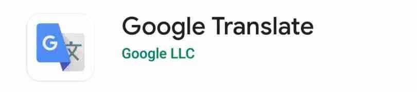 Google Translate, English Ko Hindi Mein Convert Karne Wala Apps