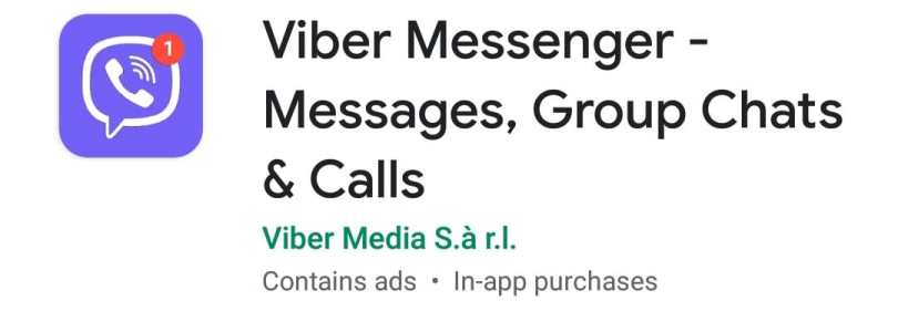 Viber Messenger Video Call Apps
