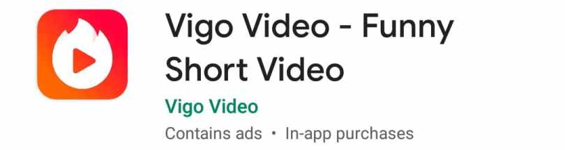 Vigo , Video Clips Dekhne Wala Apps