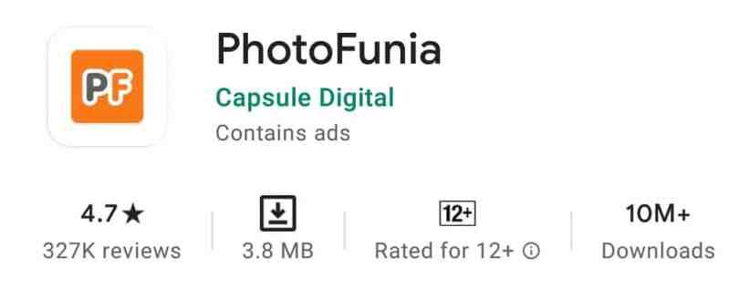 Photo Funia , बैकग्राउंड बदलने वाला ऐप्स