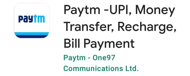Paytm , Paise transfer Karne Wala Apps
