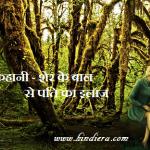 Story in hindi (हिंदी कहानी) – शेर के बाल से पति का इलाज