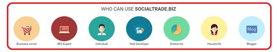 social trade biz plan