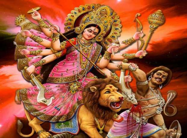 god wallpaper durga