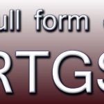 rtgs full form in banking