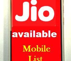 reliance gio 4g smartphone list