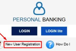 online sbi new user registration