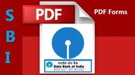 SBI Bank Account All Forms PDF Download