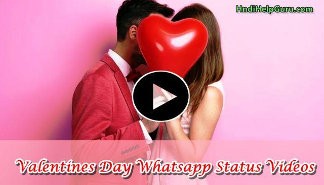 Valentines Day Whatsapp Status Videos