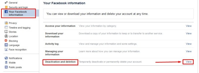 how to deactivate my facebook account in hindi jankari