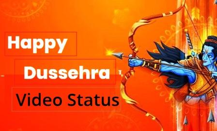 Happy Dussehra Status Video स्टेटस for Whatsapp in hindi marathi gujarati vijaya dashami