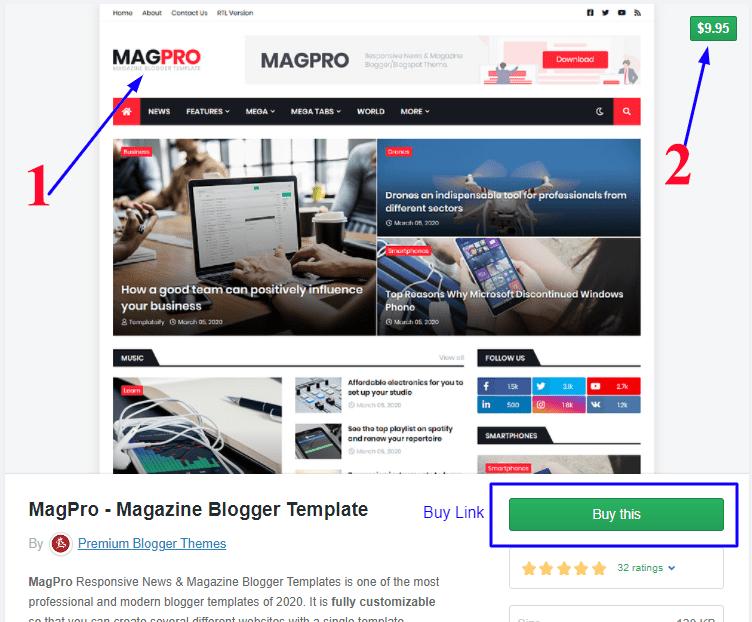 Magpro-buy Theme-link