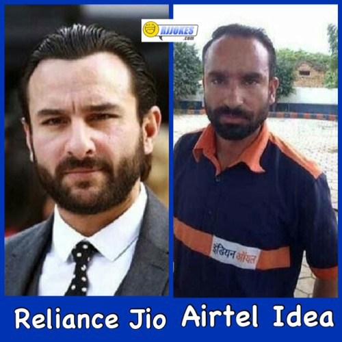 Reliance Jio vs Airtel Idea