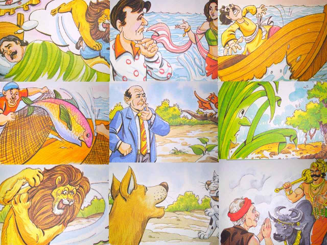 hindi moral story for class 9