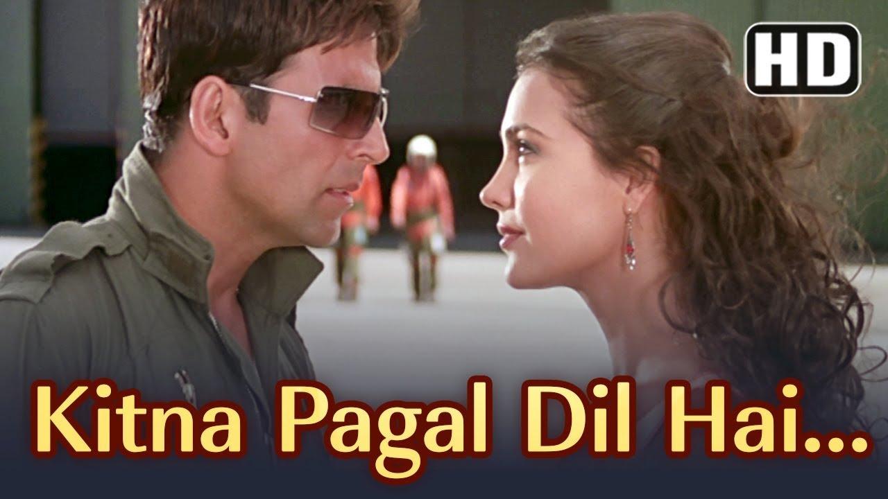 Kitna Pagal Dil Hai (Kumar Sanu) Lyrics