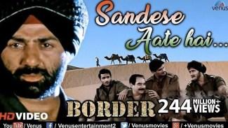 Sandese Aate Hai (Sonu Nigam) Lyrics