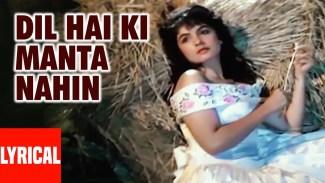 Dil Hai Ki Manta Nahin (Anuradha Paudwal) Lyrics