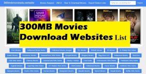 300MB Movies Download Websites