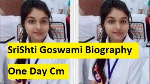 Srishti Goswami Biography
