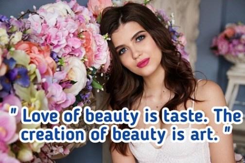 Hindi Quotes on Beauty