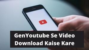 GenYoutube Youtube Downloader