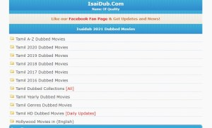isaidub tamil movie download website