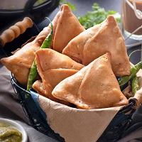 junk food list hindi samosa