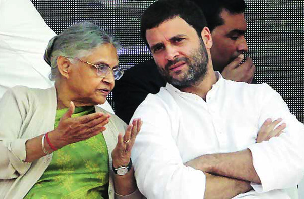 UP election congress strategy rahul-sheela