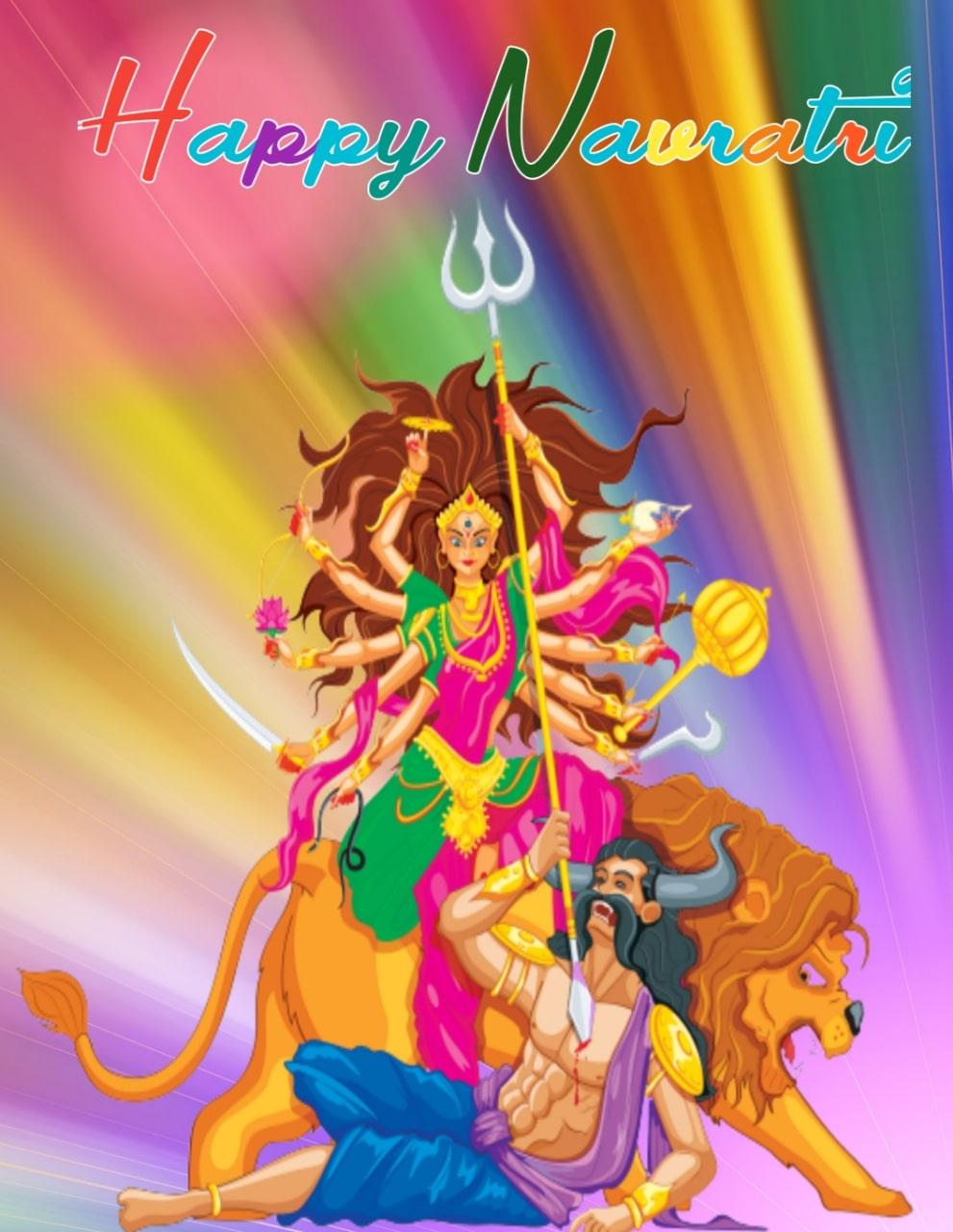 Happy navratri images in Hindi