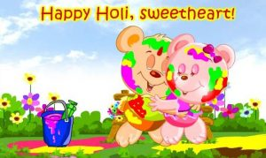 Holi Cute Images for Children