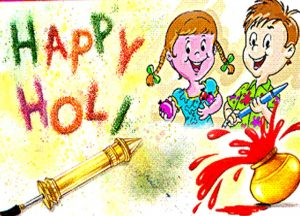 Pichkari Happy Holi Child Images
