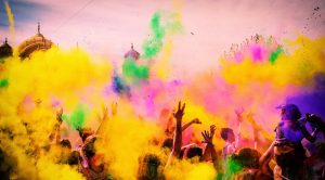 Rang Barse on Holi Image HD