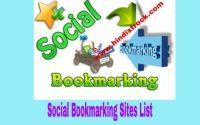 Top 100+ High PR Social Bookmarking Sites List