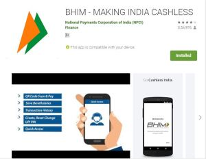 Bhimapp ko play store se install kre