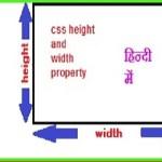 css height and width in hindi