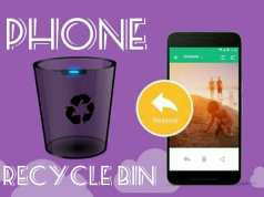 How to use Recycle bin on Smartphone in hindi