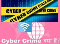 Cyber crime kya hai kitne type ka hota hai